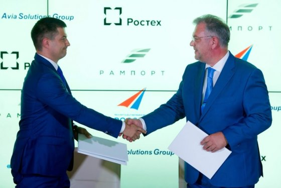 Gediminas Žiemelis ir  Dmitrijus Šugajevas sukirto rankomis dėl Ramenskojė oro uosto statybų
