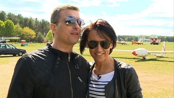 LNK nuotr./Katažina Nemycko ir Deivydas Zvonkus