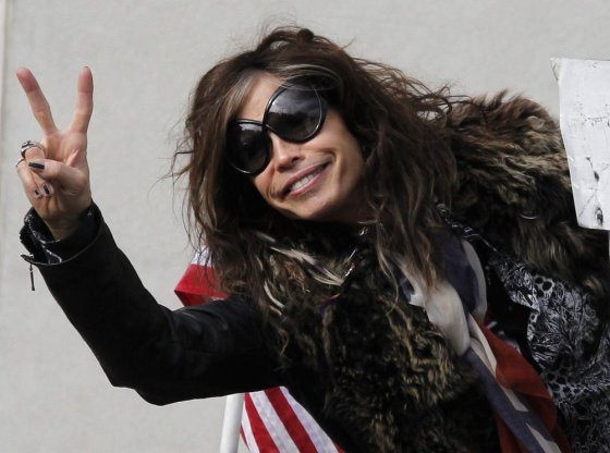 """Scanpix"" nuotr./""Aerosmith"" lyderis Stevenas Tyleris"