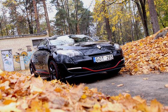 "Mato Buzelio nuotr./""Renaultsport Megane RS"""