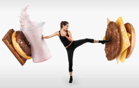 Shutterstock nuotr./Saugokitės, kalorijos!