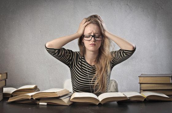 Fotolia nuotr./Egzaminų stresas