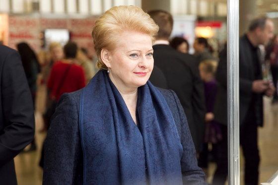 Viganto Ovadnevo/Žmonės.lt nuotr./Dalia Grybauskaitė
