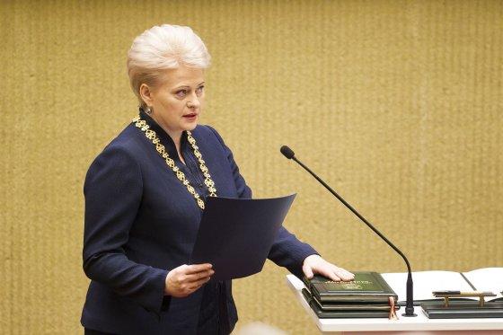 Irmanto Gelūno/15min.lt nuotr./Prezidentės Dalios Grybauskaitės inauguracija.