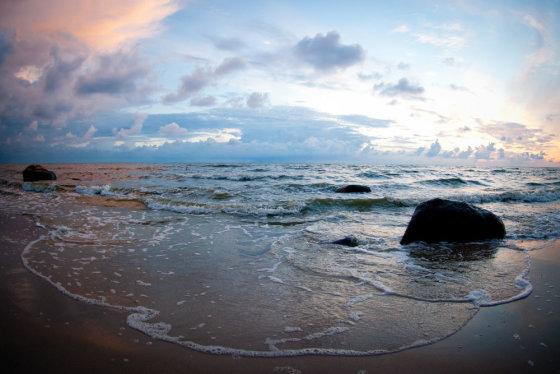 Šarūno Mažeikos/BFL nuotr./Saulėlydis prie jūros
