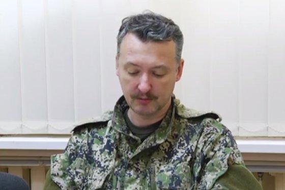 Kadras iš filmuotos medžiagos/Igoris Girkinas (Strelkovas)