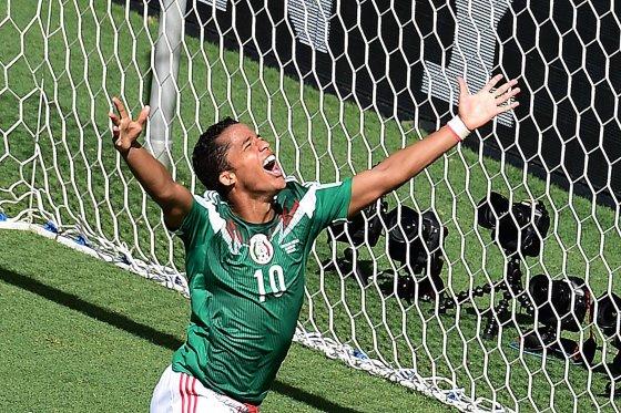 Meksikos rinktinės žaidėjas Giovani dos Santosas