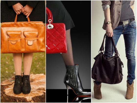 Fotolia nuotr./Rankinės ir batų spalva neprivalo būti tokia pati