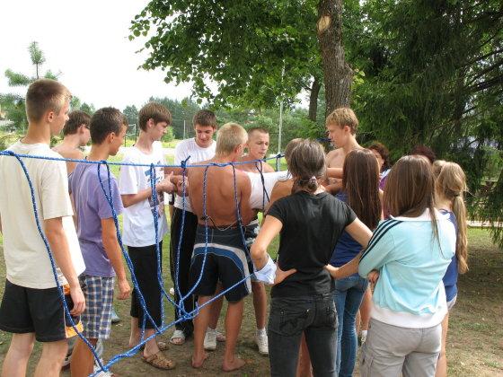 Vaikų vasaros poilsio stovyklos – proga pasisemti įspūdžių visiems metams/Vepriai