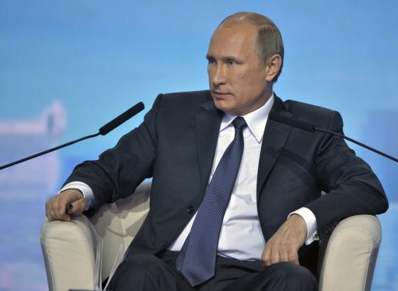 """""""Reuters""""/""""Scanpix"""" nuotr./Rusijos prezidentas Vladimiras Putinas"""