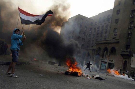 """AFP/""""Scanpix"""" nuotr./Susirėmimai Egipte"""