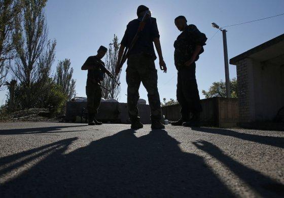 """""""Reuters""""/""""Scanpix"""" nuotr./Teroristai Ukrainoje"""
