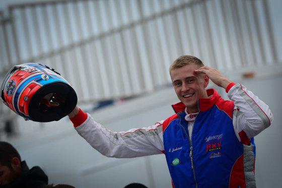 Asmeninio archyvo nuotr./Simas Juodviršis Pasaulio kartingo čempionate