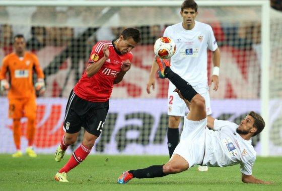 """""""Reuters""""/""""Scanpix"""" nuotr./""""Sevilla"""" ir """"Benfica"""" dvikovoje paaiškėjo Europos lygos laimėtojai – jais tapo ispanai"""