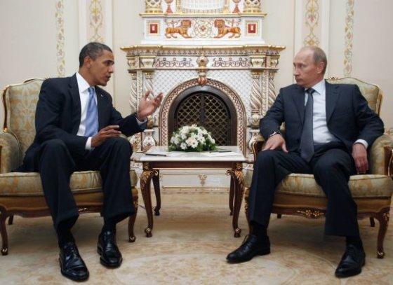 """""""Reuters""""/""""Scanpix"""" nuotr./Istoriniai Obamos pusryčiai su Putinu"""