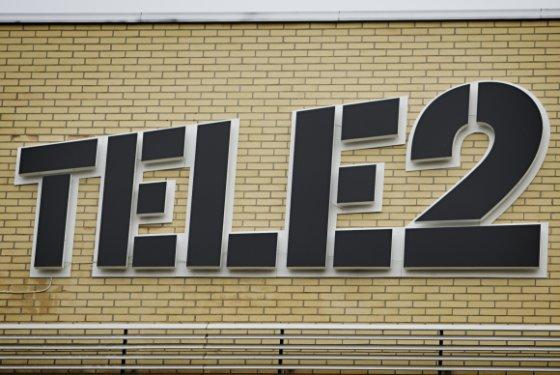 """""""Scanpix"""" nuotr./""""Tele2"""" logotipas"""