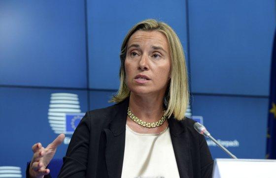 """AFP/""""Scanpix"""" nuotr./Federica Mogherini"""