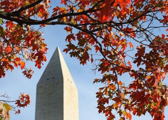 """AFP/""""Scanpix"""" nuotr./Vašingtono obeliskas"""