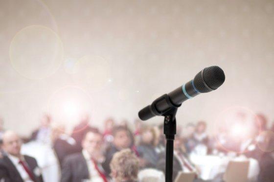 123rf.com nuotr./Viešas kalbėjimas