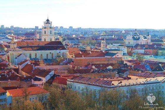 """Projekto """"We love Lithuania"""" nuotr./Dovilė Martinkutė/ Vilniaus senamiestis"""
