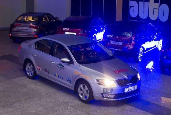 """Organizatorių nuotr./Lietuvos """"Metų automobiliu 2014"""" išrinkta """"Škoda Octavia"""""""