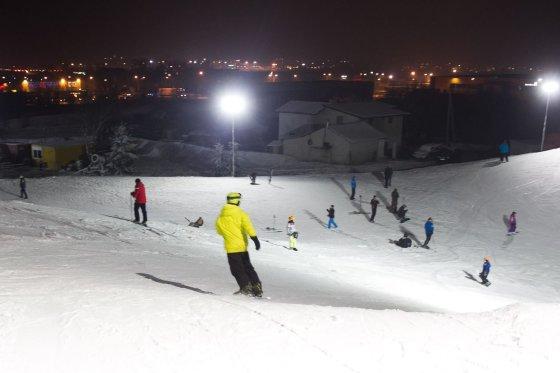 Irmanto Gelūno/15min.lt nuotr./Nustebinęs Liepkalnis: lietuviai turi kur slidinėti