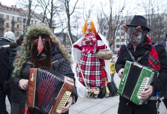 Irmanto Gelūno/15min.lt nuotr./Sostinėje švenčiamos Užgavėnės.