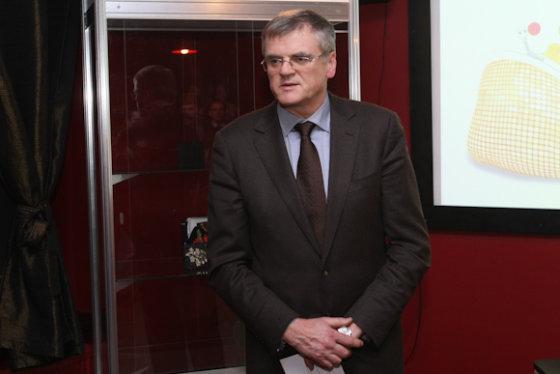 Juliaus Kalinsko/15min.lt nuotr./Lietuvos bankų asociacijos prezidentas Stasys Kropas