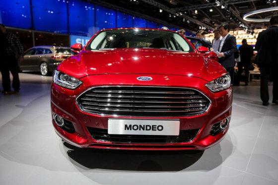 """Juliaus Kalinsko/15min.lt nuotr./""""Ford Mondeo"""""""
