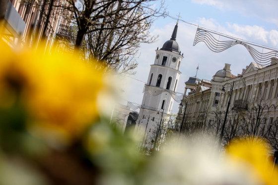 Juliaus Kalinsko/15min.lt nuotr./Pirmoji Velykų diena Vilniuje