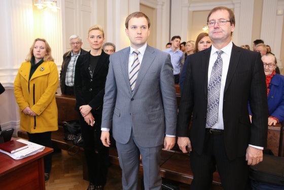 Luko Balandžio/Žmonės.lt nuotr./Vitalija Vonžutaitė, Vytautas Gapšys,  Viktoras Uspaskichas