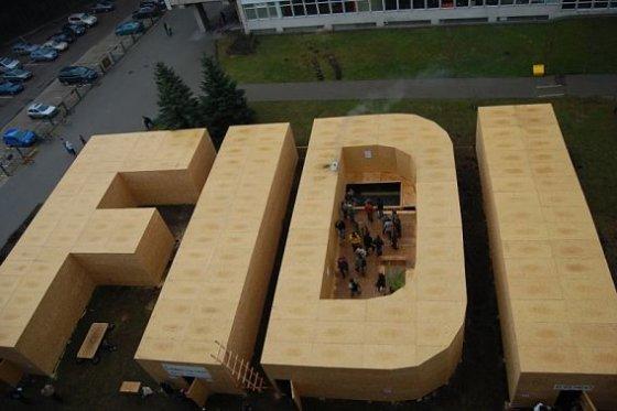 """""""FiDi"""" organizatorių nuotr./""""FiDi 42"""". Milžiniškos """"FiDi"""" raidės"""