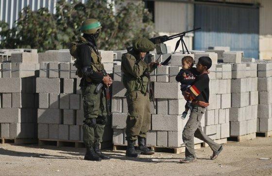 """""""Reuters""""/""""Scanpix"""" nuotr./Palestinos kariai laukia atvykstančio """"Hamas"""" lyderio"""