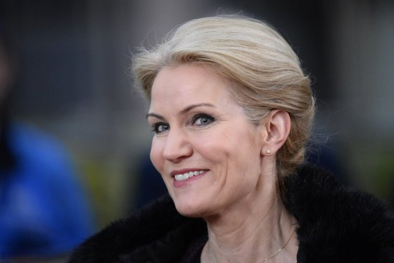 "AFP/""Scanpix"" nuotr./Danijos ministrė pirmininkė Helle Thorning-Schmidt"