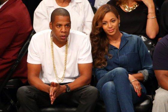 """""""Scanpix""""/""""USA Today Sports"""" nuotr./Jay Z ir Beyonce stebėjo NBA rungtynes"""