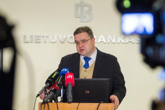 BFL/Butauto Barausko nuotr./Lietuvos banko valdybos pirmininkas Vitas Vasiliauskas