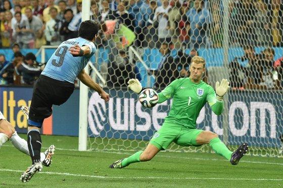 """AFP/""""Scanpix"""" nuotr./Luiso Suarezo įvartis"""