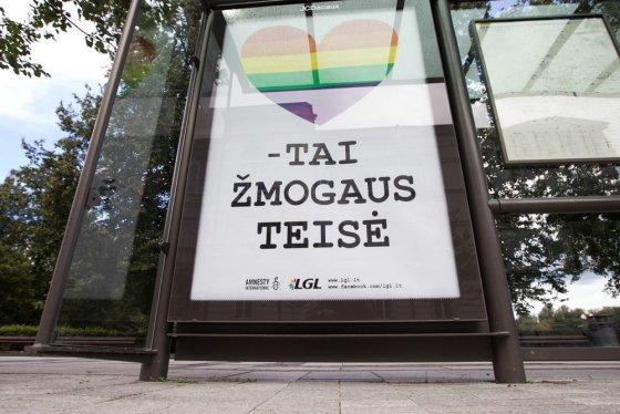 """BFL nuotr./Reklaminiai plakatai """"Už lygybę"""""""