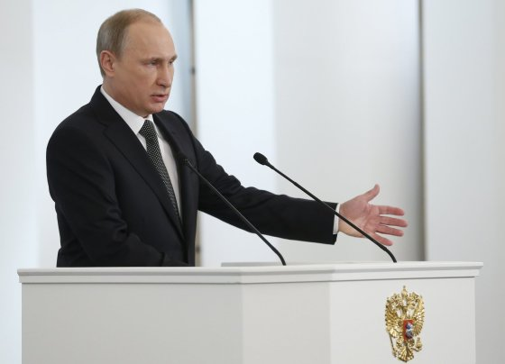 """""""Scanpix""""/ITAR-TASS nuotr./Rusijos prezidentas Vladimiras Putinas"""
