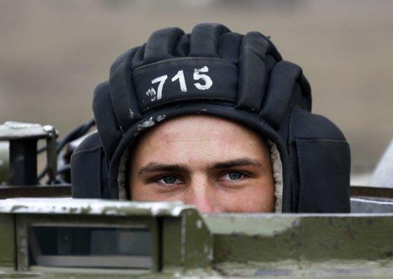 """""""Reuters""""/""""Scanpix"""" nuotr./Ukrainos kariai prie Rusijos sienos"""