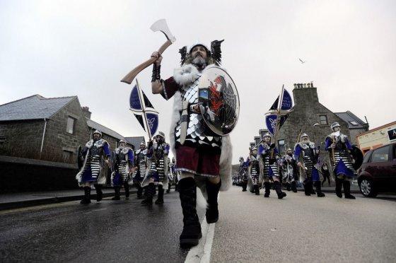 "AFP/""Scanpix"" nuotr./Vikingų festivalio akimirka"