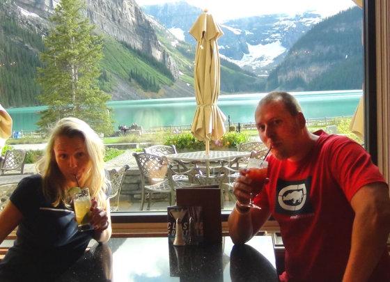 Asmeninio archyvo nuotr./Violeta ir Vilius Tarasovai Kanadoje