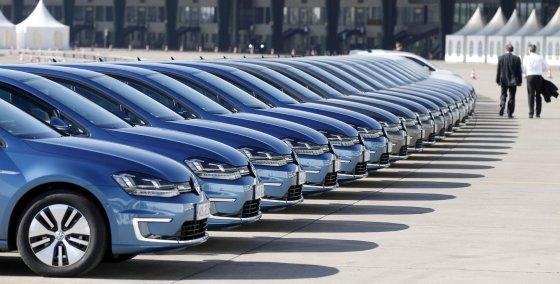 """""""Reuters""""/""""Scanpix"""" nuotr./""""Volkswagen e-Golf"""""""