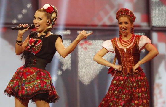 """Reuters""/""Scanpix"" nuotr./Lenkijos atstovai Donatan ir Cleo"