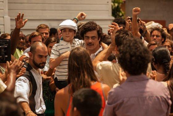 """""""ACME Film"""" archyvo nuotr./Benicio del Toro filme """"Eskobaras: Kruvinas rojus"""""""