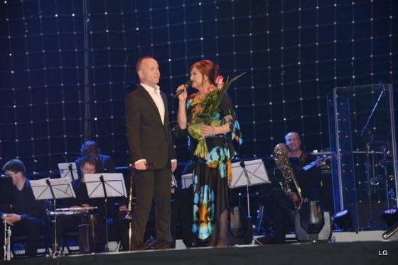 Laimos Gelažės nuotr./Kastytis Kerbedis ir Birutė Petrikytė