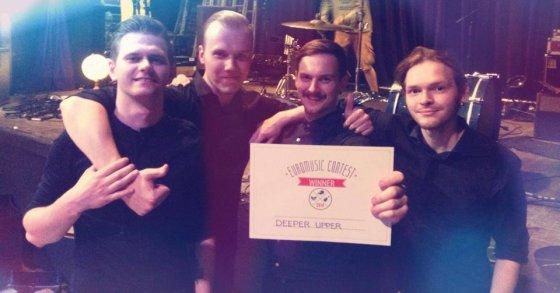 """Facebook"" nuotr./""Deeper Upper"" – konkurso ""EuroMusic Contest"" nugalėtojai"