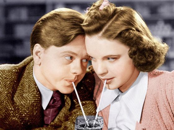 AOP nuotr./Judy Garland ir Mickey Rooney 1939-aisiais