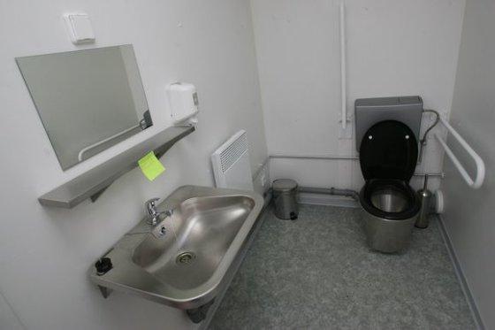 """Eriko Ovčarenko/15min.lt nuotr./Kauno valdžia neseniai paprašė teismo atverti """"auksinio tualeto"""" duris."""