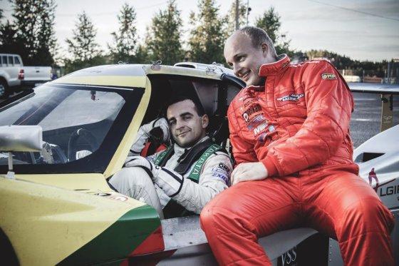 Komandos nuotr./Vytautas Švedas (kairėje) ir Deividas Jocius